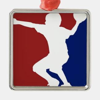 Dodgeball League Metal Ornament