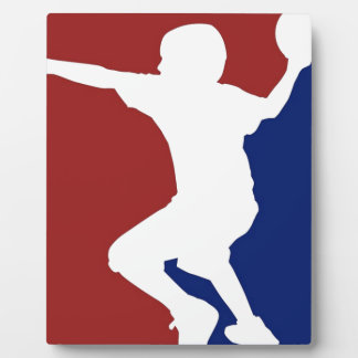 Dodgeball League Plaque