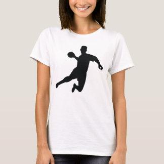 Dodgeball Player Silhouette T-Shirt