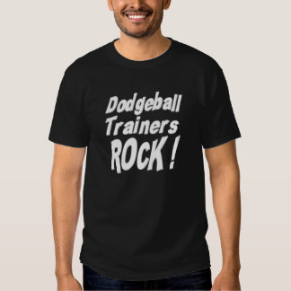 Dodgeball Trainers Rock! T-shirt