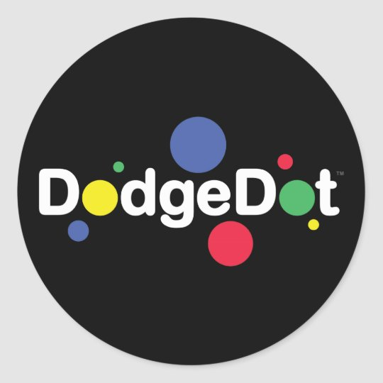 DodgeDot Logo Sticker Sheet