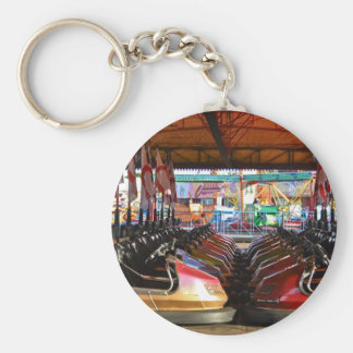 Dodgem Cars Key Chain