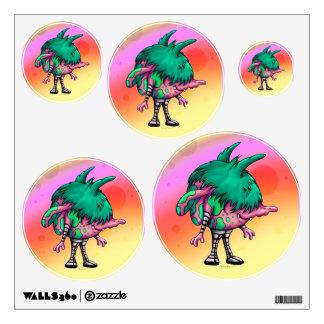 DODO ALIEN WALL DECOR CIRCLE Multiple