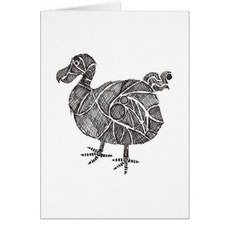 Dodo Bird Card