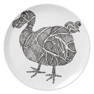 Dodo Bird Dinner Plates