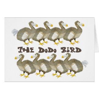 Dodo Bird Greeting Card
