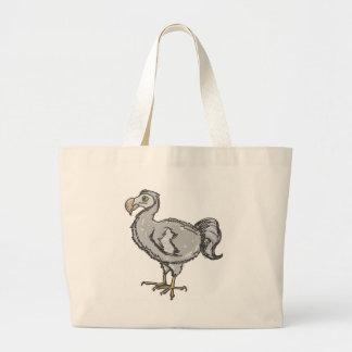 Dodo Bird Large Tote Bag