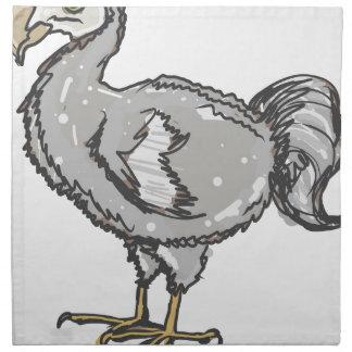 Dodo Bird Napkin