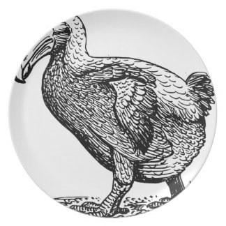 Dodo Bird Plate