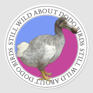 Dodo Bird Round Sticker