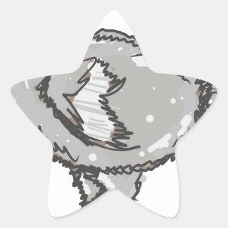 Dodo Bird Star Sticker