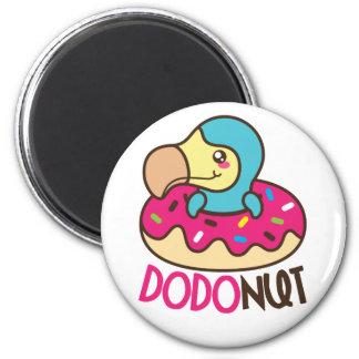 Dodonut Dodo Bird Doughnut Magnet