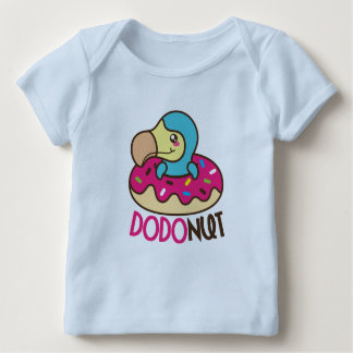 Dodonut (doughnut and dodo bird) baby T-Shirt