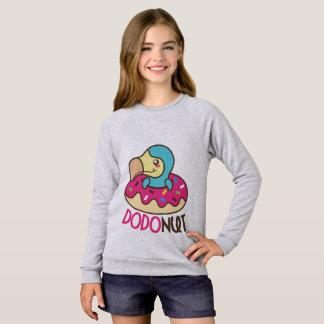 Dodonut (doughnut and dodo bird) sweatshirt