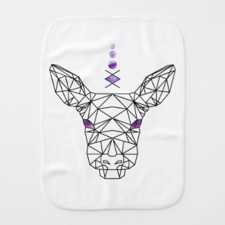 Doe! A deer Burp Cloth