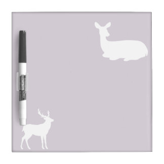 Doe and Buck Dry Erase Board
