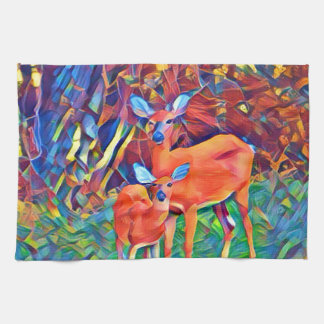 Doe and Fawn Kitchen Towel