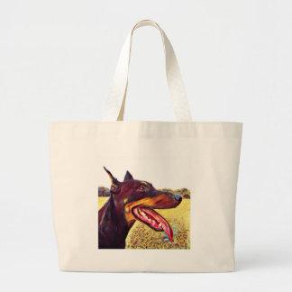 Doerman Swirl Paint 3 Large Tote Bag