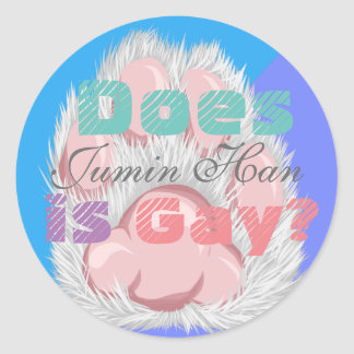 Does Jumin Han is Gay? Sticker