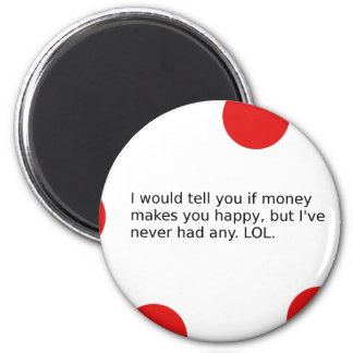 Does Money Make You Happy? Magnet