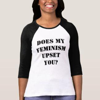 Does my feminism upset you? T-Shirt