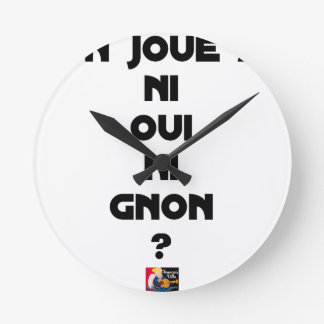 DOES ONE PLAY NEITHER NOR THUMP YES? - Word games Round Clock