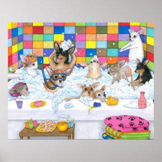 Dog 121 chihuahua poster