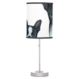 dog 128 Boston Terrier Table Lamp