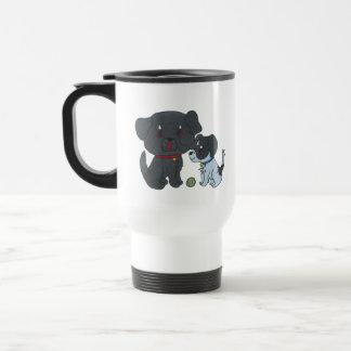 Dog 2 travel mug