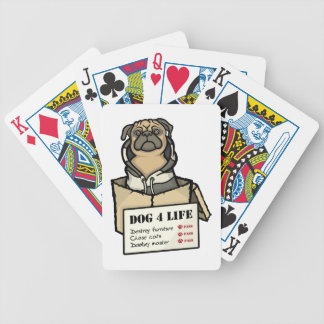 Dog 4 Life Bicycle Playing Cards