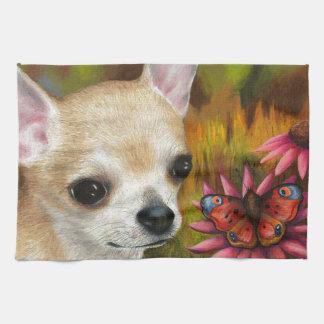 Dog 85 Chihuahua Kitchen Towel