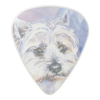 Dog Acetal Guitar Pick