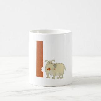 Dog Alphabet L Mug