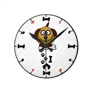 Cartoon Dog Clocks High Quality Cartoon Dog Wall Clocks