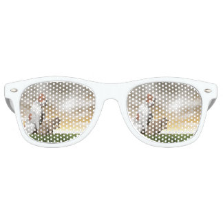 Dog and cat friendship - 3D render Party Shades
