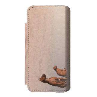 Dog and cat friendship incipio watson™ iPhone 5 wallet case