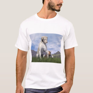 Dog and cat friendship T-Shirt