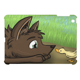 """""""Dog and Duck"""" Cover For The iPad Mini"""