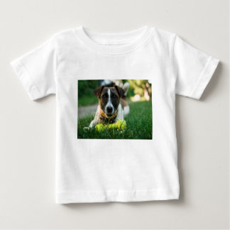Dog and His Toy Bone Baby T-Shirt