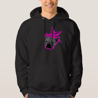 Dog and Star Pink Hoodie