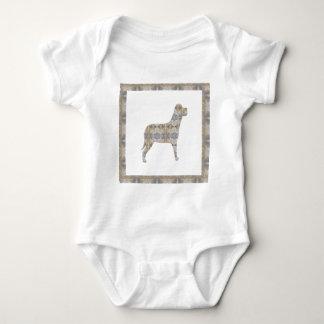 DOG Animal CRYSTAL Jewel NVN461 KIDS  fun zoo birt Tshirt