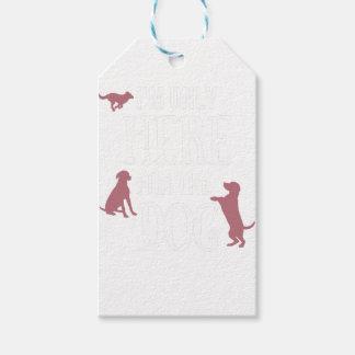 Dog Anxiety Socially Awkward Party Shirt Gift Tags