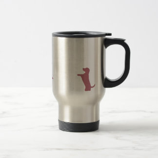 Dog Anxiety Socially Awkward Party Shirt Travel Mug