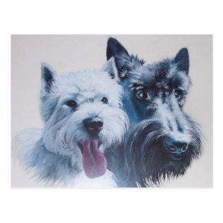 Dog Art: Max Postcard