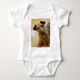 dog baby bodysuit