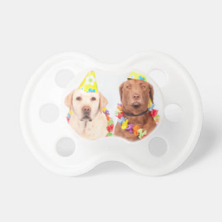 dog baby pacifier
