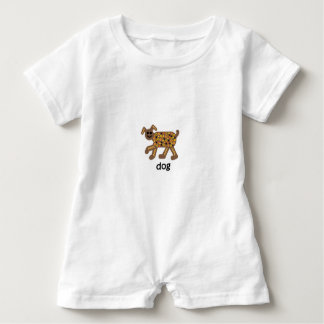 Dog Baby Romper