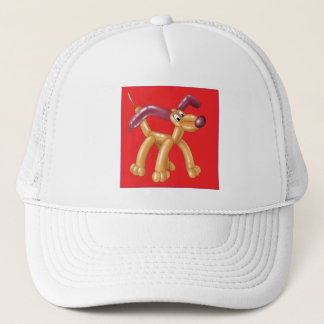 DOG BALLOON TRUCKER HAT