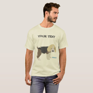 dog beagle drawing T-Shirt