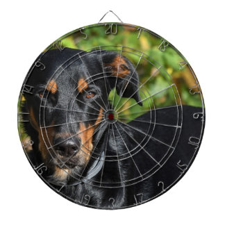 Dog Beauceron Dartboard